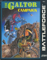 The Galtor Campaign Cover